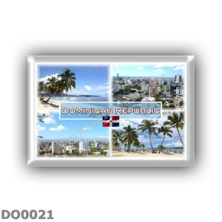 DO0021 America - Dominican Republic - Panorama - Santo Domingo - Santiago - Beac and Sea View