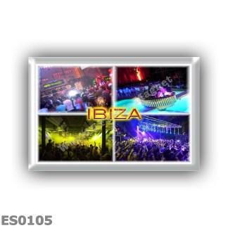 ES0105 Europe - Spain - Balearic Islands - Ibiza - discos in Ibiza - Privilege - Amnesia - Space