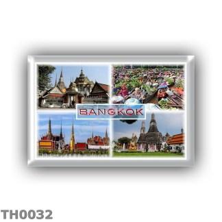 TH0032 0072 Asia - Thailand - Bangkok - Wat Pho - Floating Market - Gran Palace - Wat Arun