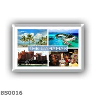 BS0016 America - The Bahamas - Nassau - Blue Lagoon Island - The Royal Towers - Junkanoo