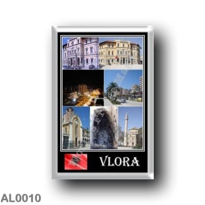 AL0010 Europe - Albania - Valona - Mosaic