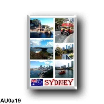 AU0a19 Oceania - Australia - Sydney - Mosaic