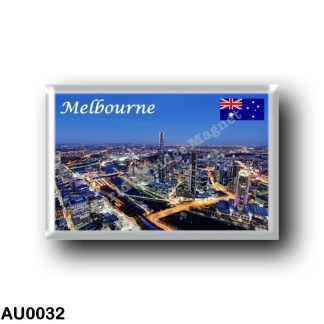 AU0032 Oceania - Australia - Melbourne - By Night
