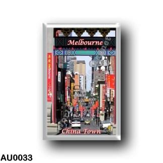 AU0033 Oceania - Australia - Melbourne - China Town