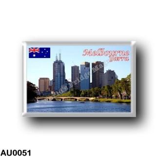 AU0051 Oceania - Australia - Melbourne - River Yarra