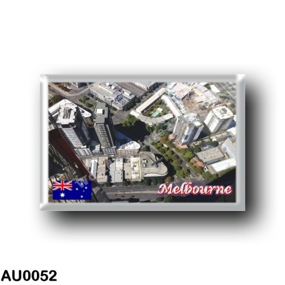 AU0052 Oceania - Australia - Melbourne - View looking down from Eureka Tower