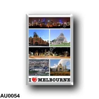 AU0054 Oceania - Australia - Melbourne - I Love