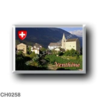 CH0258 Europe - Switzerland - Canton Vallese - Venton