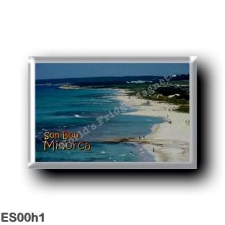 ES00h1 Europe - Spain - Balearic Islands - Minorca - Son Bou - Beach