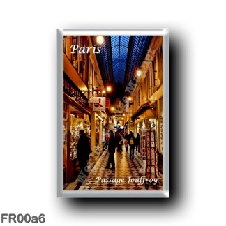 FR00a6 Europe - France - Paris - Passage Jouffoy
