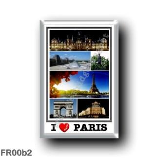 FR00b2 Europe - France - Paris - I Love