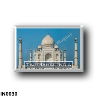 IN0030 Asia - India - The Taj Mahal India