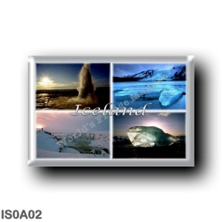 IS0A02 Europe - Iceland - Jokulsarlon - Gullfoss - Geyser - Blue Lagoon