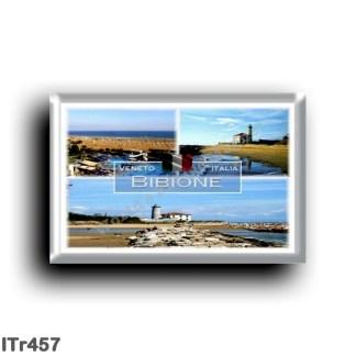 ITr457 Europe - Italy - Veneto - Bibione - Punta Tagliamento lighthouse - Beach