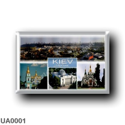UA0001 Europe - Ukraine - Kiev - Kyiv - Sant Sophia Cathedral - Verkhovna Rada - National Botanical Garden - Saint Michael's Dom