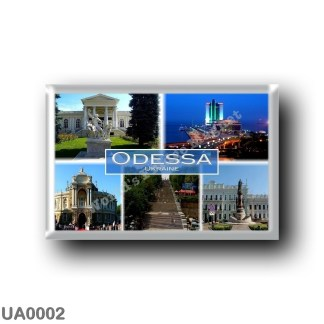 UA0002 Europe - Ukraine - Odessa - Archaeological Museum - Black Sea port - Opera House - Potemkin Step - The Centre of Odessa