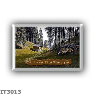 IT3013 Europe - Italy - Dolomites - Group Antelao - alpine hut Capanna Tita Panciera - locality Forcella Antracisa - seats 11 -
