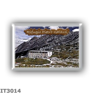 IT3014 Europe - Italy - Dolomites - Group Antelao - alpine hut Pietro Galassi - locality Forcella Piccola - seats 100 - altitude