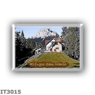 IT3015 Europe - Italy - Dolomites - Group Antelao - alpine hut San Marco - locality Col de Chis da Os - seats 37 - altitude mete