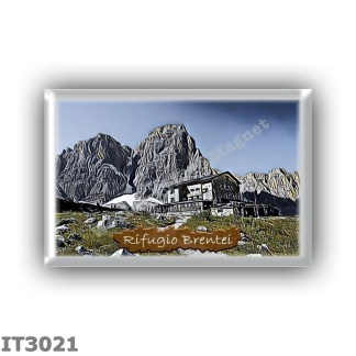 IT3021 Europe - Italy - Dolomites - Group Brenta - alpine hut Brentei - locality Val Brenta - seats 90 - altitude meters 2182