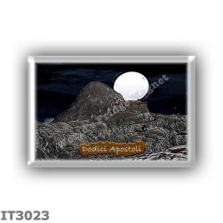 IT3023 Europe - Italy - Dolomites - Group Brenta - alpine hut Dodici Apostoli - locality Conca di Pratofiorito - seats 40 - alti