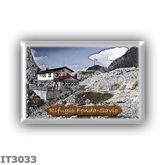 IT3033 Europe - Italy - Dolomites - Group Cadini di Misurina - alpine hut Fonda-Savio - locality Passo dei Tocci - seats 40 - al