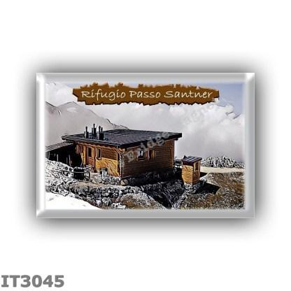 IT3045 Europe - Italy - Dolomites - Group Catinaccio - alpine hut Passo Santner - locality Passo Santner - seats 8 - altitude me