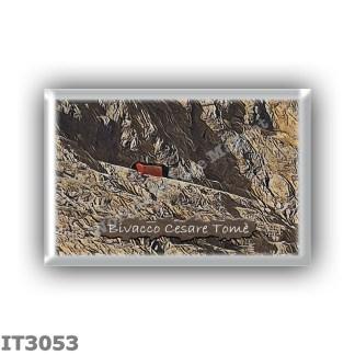 IT3053 Europe - Italy - Dolomites - Group Civetta - alpine hut Bivacco Cesare Tome - locality Cima Val del Giazzer - seats 6 - a