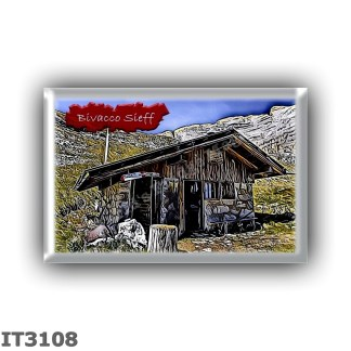IT3108 Europe - Italy - Dolomites - Group Latemar - alpine hut Bivacco Sieff - locality Lasté di Valsorda - seats 10 - altitude