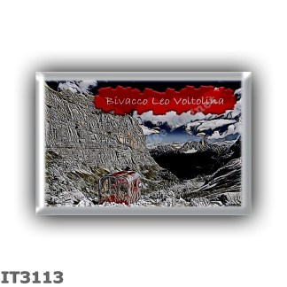 IT3113 Europe - Italy - Dolomites - Group Marmarole - alpine hut Bivacco Leo Voltolina - locality Val de Mez - seats 9 - altitud