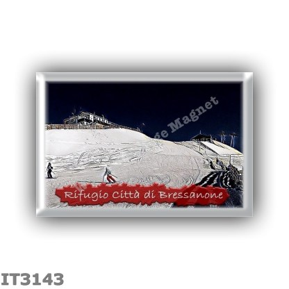 IT3143 Europe - Italy - Dolomites - Group Odle-Puez - alpine hut Citta di Bressanone - locality Val di Landro - seats 56 - altit