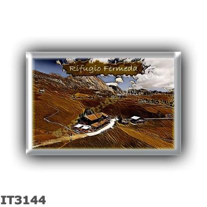 IT3144 Europe - Italy - Dolomites - Group Odle-Puez - alpine hut Fermeda - locality Alpe di Fermeda - seats 30 - altitude meters