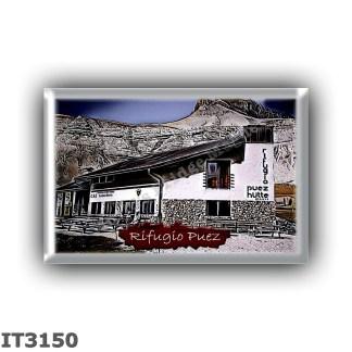 IT3150 Europe - Italy - Dolomites - Group Odle-Puez - alpine hut Puez - locality Colfosco - seats 28 - altitude meters 2475