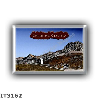 IT3162 Europe - Italy - Dolomites - Group Pale di San Martino - alpine hut Capanna Cervino - locality Passo Rolle - seats 18 - a