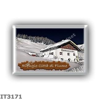 IT3171 Europe - Italy - Dolomites - Group Pelmo - alpine hut Citta di Fiume - locality Malga Durona - seats 32 - altitude meters