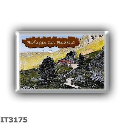 IT3175 Europe - Italy - Dolomites - Group Sassolungo - alpine hut Col Rodella - locality Col Rodella - seats 6 - altitude meters