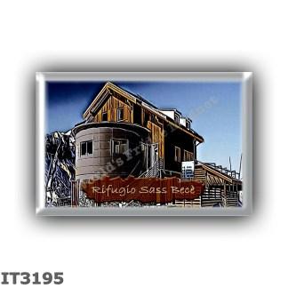 IT3195 Europe - Italy - Dolomites - Group Sella - alpine hut Sass Bece - locality Sass Bece al Pordoi - seats 12 - altitude mete