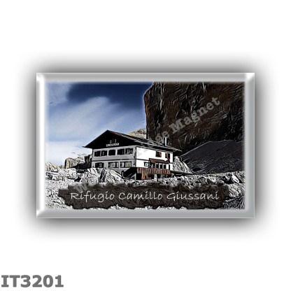 IT3201 Europe - Italy - Dolomites - Group Tofane - alpine hut Camillo Giussani - locality Forcella Fontanegra - seats 60 - altit