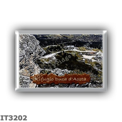 IT3202 Europe - Italy - Dolomites - Group Tofane - alpine hut Duca d Aosta - locality Arrivo seggiovia PieTofana - seats 15 - al