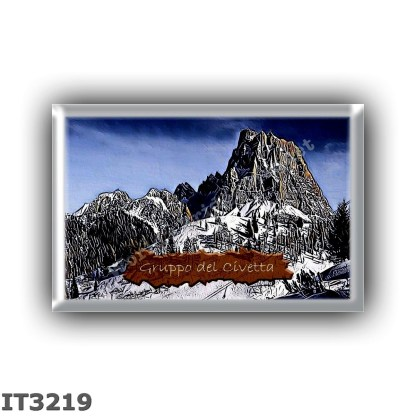 IT3219 Europe - Italy - Dolomites - Pelmo group - Monte Civetta
