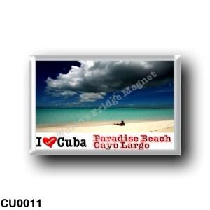 CU0011 America - Cuba - Cayo Largo - Paradise Beach