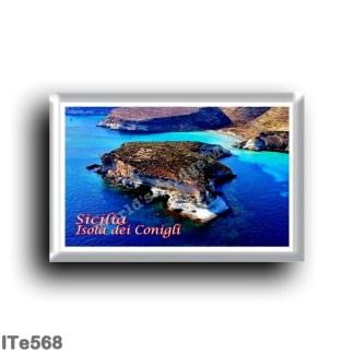 ITe568 Europe - Italy - Sicily - Lampedusa - Isola dei Conigli