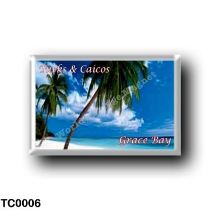 TC0006 America - Turks and Caicos Islands - Providenciales Grace Bay