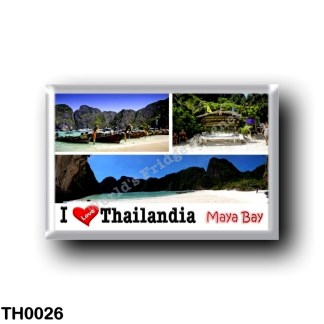 TH0026 Asia - Thailand - Maya Bay - Krabi - I Love