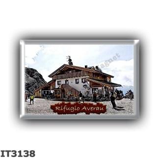 IT3138 Europe - Italy - Dolomites - Group Nuvolau - alpine hut Averau - locality Forcella Nuvolau - seats 41 - altitude meters 2