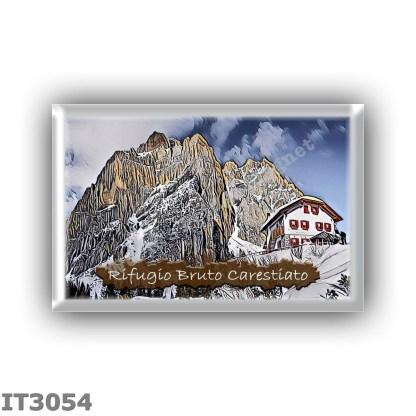 IT3054 Europe - Italy - Dolomites - Group Civetta - alpine hut Carestiato - locality Col dei Pass (Moiazza) - seats 44 - altitud