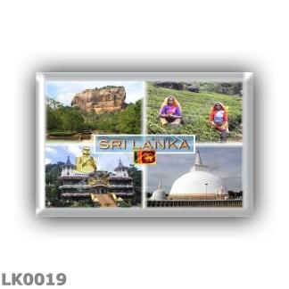 LK0019 Asia - Sri Lanka - Sigirija - Golden Temple - Dambulla - Stupa Ruwanveli Saya a Anuradhapura
