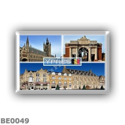 BE0049 Europe - Belgium - Ypres - Lakenhal, in Flanders Fields Museum - Menin Gate Memorial - Grote Markt