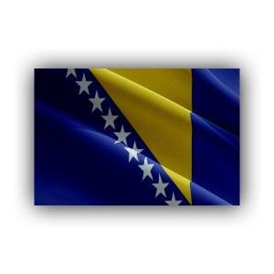 Bosnia and Herzegovina - flag