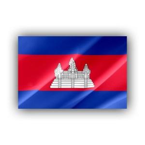 Cambodia - flag